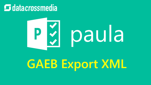 Export GAEB XML