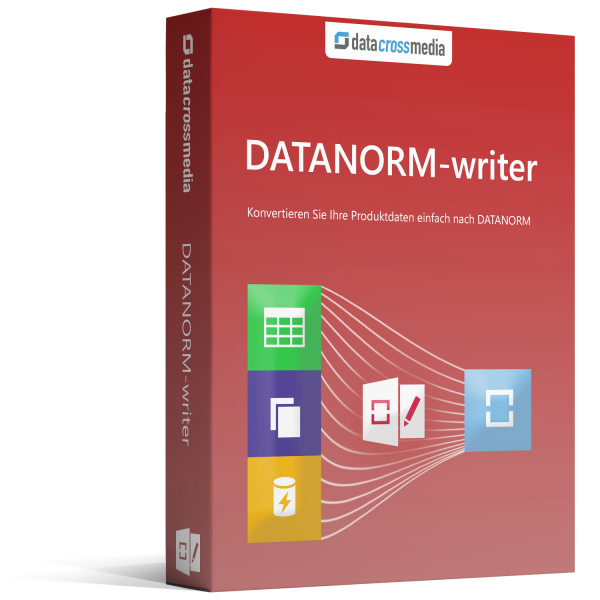 Upgrade DATANORM-writer 6 Standard auf Business
